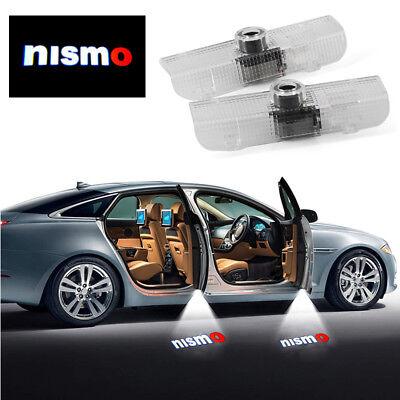 - 2x LED Door Projector Shadow Lights For 02-17 Titan Altima Armada Maxima Quest