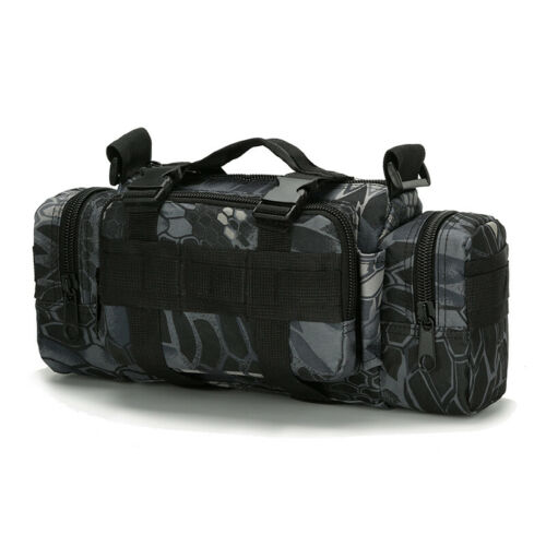 Gun Range Bag for Pistol Handgun Shooters Tactical Gear Small Backpack MOLLE