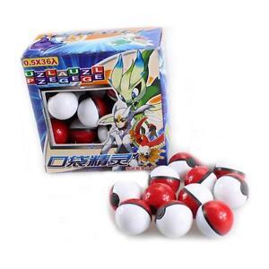 36pcs Pokemon Poke Ball Pikachu Action Figure Mini Pop-up Monsters Master Toy