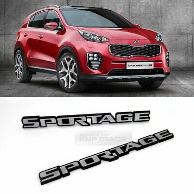 Side Front Trunk Hairline Emblem Point Logo Badge 2p for KIA 2017-18 Sportage QL