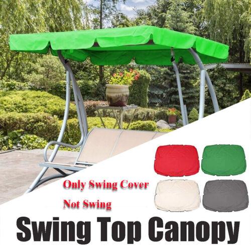 Practical Outdoor Garden Patio Swing Canopy Seat Top Waterproof Sunshade Cover