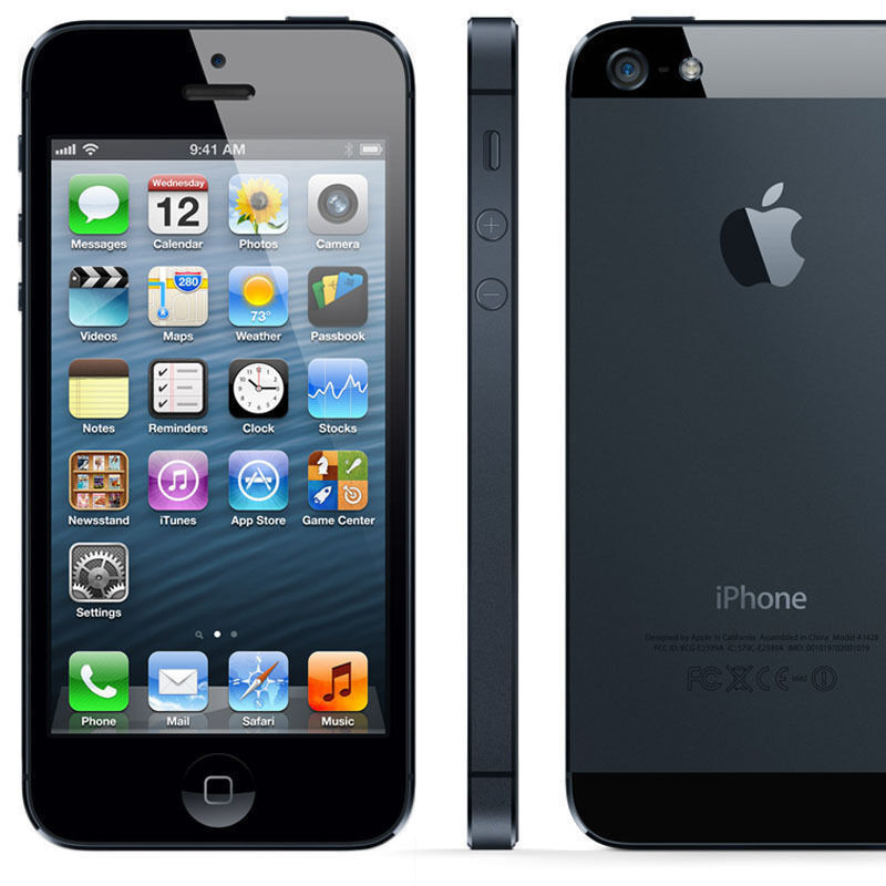Apple iPhone 5 16GB Mobile Smartphone unlocked black