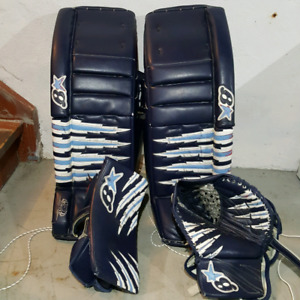 35 + 2 Brian's Zero G Pro pads and gloves set