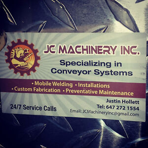 JC MACHINERY INC.   Welders . Millwrights