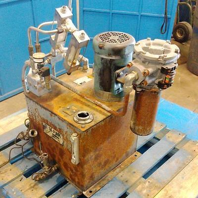 Parker Fluid Systems H-pak Hydraulic Power Unit H1x963110 Listing 3