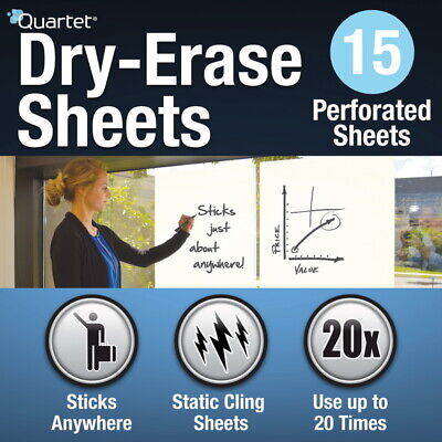 Quartet Dry-erase Sheets