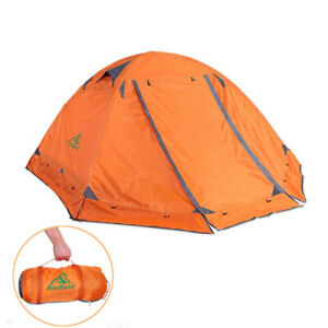 Double Layer 2 Person 4 Season Camping Tent FREE SHIPPING