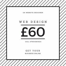 Edinburgh web design, development and SEO from £60 - UK website designer & developer
