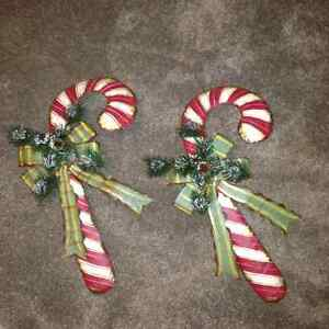 Hanging Christmas Metal Candy Canes London Ontario image 1