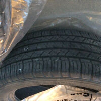 Three Michelin 235/55r/19 tires for sale
