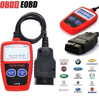 Car Fault Code Reader Engine Diagnostic Scanner Reset Tool OBD 2 CAN BUS EOBD
