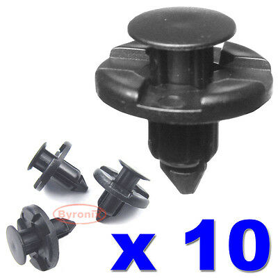 Fit K12 Nissan Micra Linings Engine Shields 50x Plastic Trim Clips- Bumpers