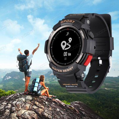 Ip68 Bluetooth Smart Watch Fitness Tracker Gps Running Heart Rate Multi Sports