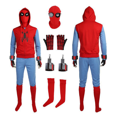 Top Grade Spider Man Homecoming Spiderman Peter Parker Cosplay Costume](Movie Grade Costumes)