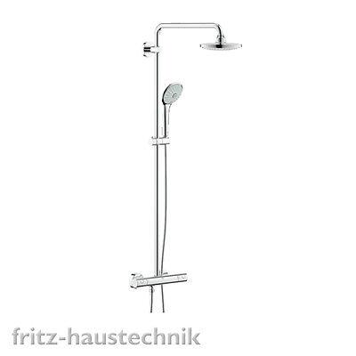 Grohe Euphoria 180 Duschsystem mit Thermostat 27296001 Brausebatterie online kaufen