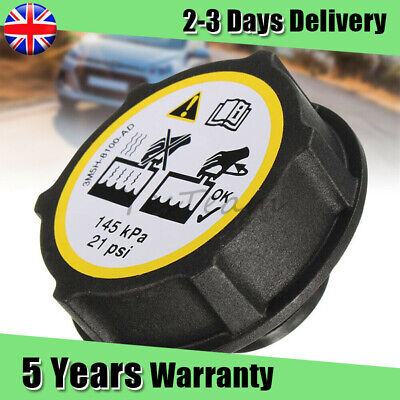 Fits Ford Fiesta MK6 Focus Mondeo C-Max Set Coolant Expansion Tank Radiator Cap