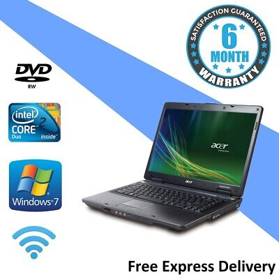 Acer Travelmate 5730 Windows 7 Laptop - 2.20GHz | 3GB | 160GB | DVDRW