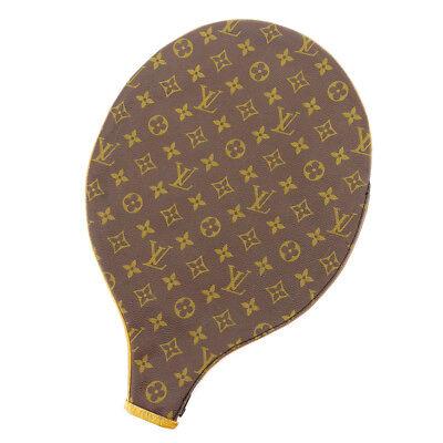 Auth Louis Vuitton Racket Case Monogram Men