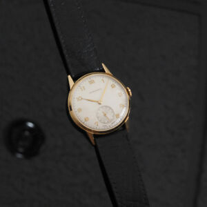 1951 Longines solid 18K gold vintage men's watch. Price fixed.