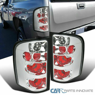 Chevy 07-14 Silverado 1500 2500 3500 Pickup Clear Tail Lights Rear Brake Lamps Chevrolet Silverado 3500 Pickup Tail