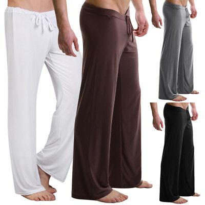 (Men's Yoga Home Sports Pants Casual Pajama Trousers Sleepwear Homewear MC US)