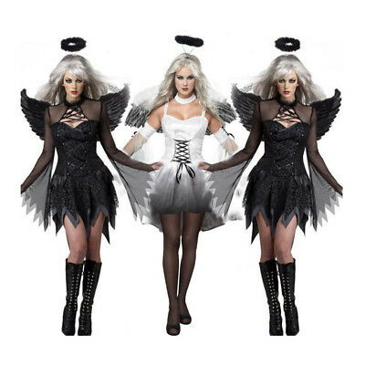 Female Zombie Costume Ghost Bride Dress Halloween Party Ladies Outfit Cosplay](Female Zombie Costumes)