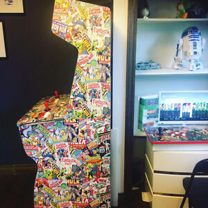 Custom Arcade Machines for sale with 10000+GAMES