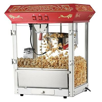 Great Northern Popcorn Company   Red Old Time Popcorn Popper Machine  8 Ounce