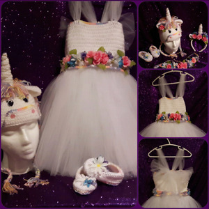 Handmade One of a Kind Unicorn set