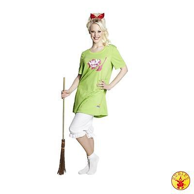 Bibi Blocksberg Gr. 36 - 44 Frauen Kostüm Hexe Hexenkostüm Fasching Karneval