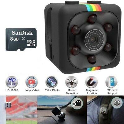 Mini DV SPY Camera 1080P HD 30FPS Hidden Motion Detection Video Recorder + 8GB ❤ for sale  Shipping to Nigeria