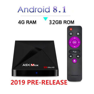 Android TV Box  A5X MAX Android 8.1 4GB/32GB