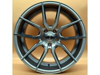"""19"""" AVA 304 Alloy Wheel and Tyre Package 5X112 Audi A4, BMW 3 Series G20, Volkswagen Scirocco"""