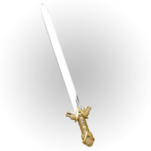 ANCIENT KNIGHT SWORD LONG FANCY DRESS MEDIEVAL & GOTHIC ACCESSORY WEAPON TOY