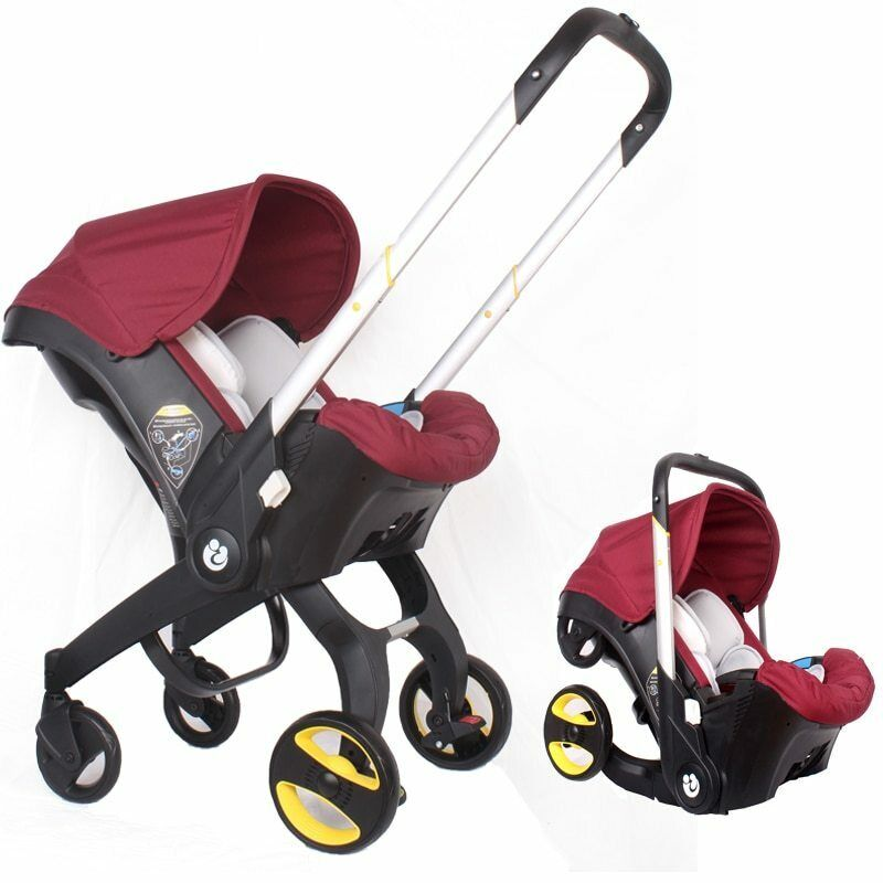 Free Shipping 4 IN 1 Car Seat Stroller Baby Carriage Basket