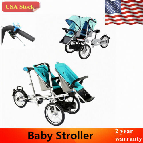 City Select Lux Twin Tandem Double baby Stroller Pushchair M