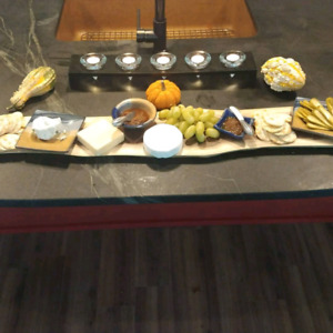 Live edge cheese/charcuterie boards
