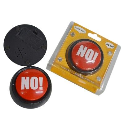 Us No No  Sound Button Music Box Novelty Gag Event Office Party Toy Favor Gift
