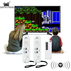 Data Frog Retro Video Game Console Wireless USB Console Support