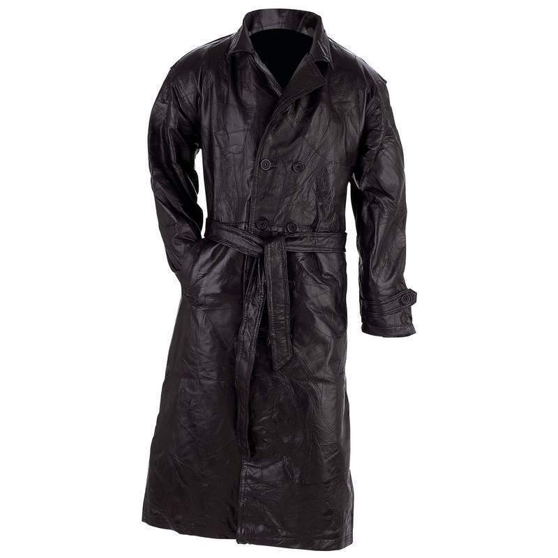 3bfa674f7f5f Giovanni Navarre reg GFTR4X Navarre Leather Trench Coat - 4x