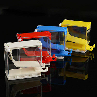 1set Dental Othodontic Cotton Roll Holder Dispenser Organizer Press Type 4 Color