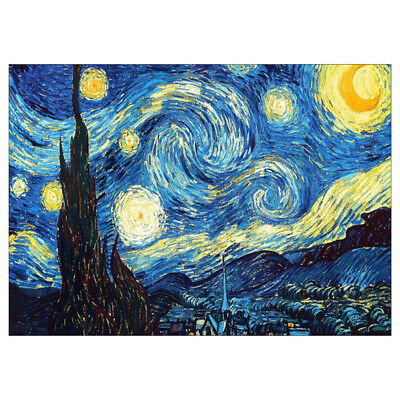 Full Drill Starry Night DIY 5D Diamond Painting Embroidery C