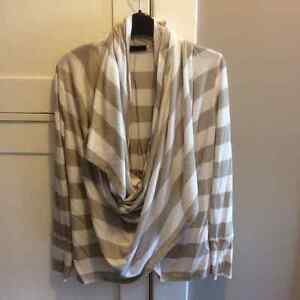 Funky wrap cardigan made by Press