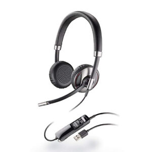 Plantronics Blackwire C720-M Wired Headsets - Retail Packaging -