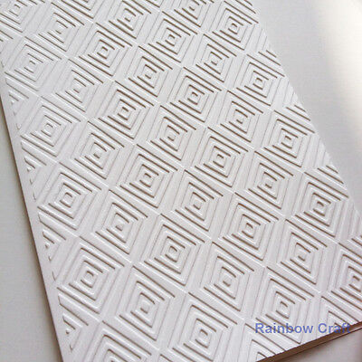 5 Embossed Cards & Envelopes Diamonds Wedding invitations party invitations