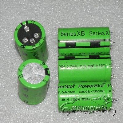 1pcs Aerogel 2.5v 400f Farad Super Capacitor Ultracapacitor 35x62mm E232 Yx