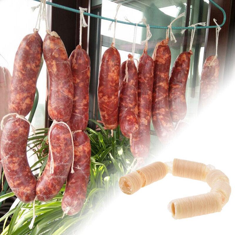 18mm Edible Sausage Casings skins Packaging Pork Intestine Sausage Tubes Casing