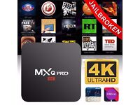 Android Tv box, fully loaded with kodi / mobdro and IPTV service