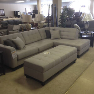 Sectional wth Chaise ***BRAND NEW***