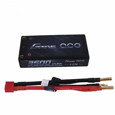 Used, Gens ace 3500mAh SHORTY LCG 2S 7.4V 60C Lipo Battery B44 LOSI 22 ORION REEDY B6  for sale  Des Plaines